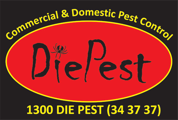 DiePest Logo on black